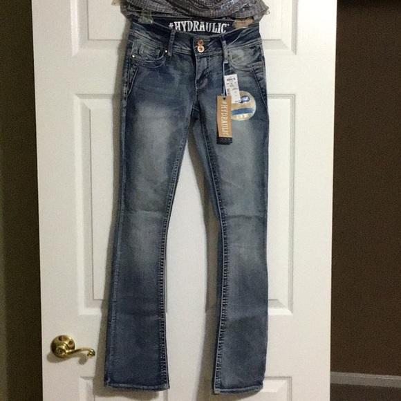 8497b39c09c Junior Hydraulic Lola Curvy Bootcut Jeans